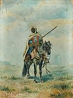 Franz Josef Georg Illem - Beduine zu Pferd - 7208 - Österreichische Galerie Belvedere.jpg