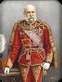 Franz Joseph as a Hungarian Hussar.jpg