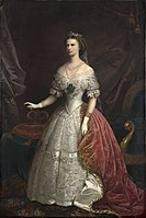 Franz Russ der Jüngere - Kaiserin Elisabeth - 6157 - Österreichische Galerie Belvedere.jpg