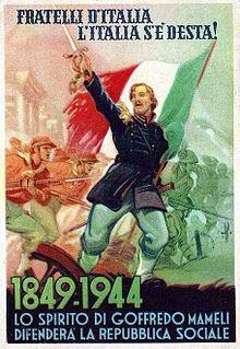 Storia della bandiera d 39 italia wikipedia for Bandiera di guerra italiana