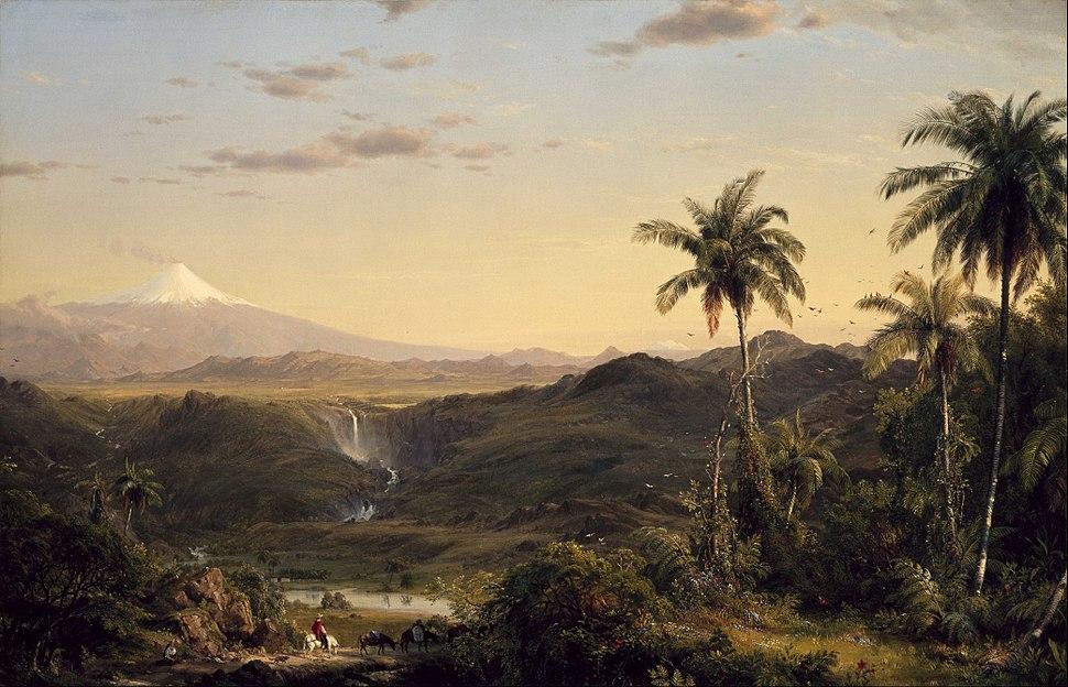 Frederic Edwin Church - Cotopaxi - Google Art Project