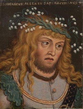 Frederick III, Duke of Austria - Frederick III by Anton Boys