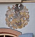 Freiburg Druckerei Kornhas Wappen der Buchdrucker.jpg