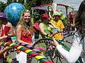 Fremont Fair 2007 pre-parade hula hoops 01.jpg