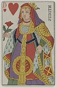 https://upload.wikimedia.org/wikipedia/commons/thumb/f/fb/French_Portrait_card_deck_-_1850_-_Queen_of_Hearts.jpg/117px-French_Portrait_card_deck_-_1850_-_Queen_of_Hearts.jpg