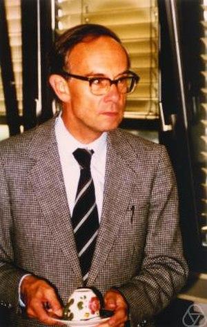 Friedrich Hirzebruch - Friedrich Hirzebruch in 1980 (picture courtesy MFO)