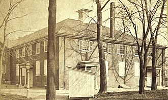 Arch Street Friends Meeting House - Image: Friends Meeting House, late 19th century
