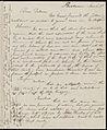 From Caroline Weston to Deborah Weston; Sunday, March 3, 1839 p1.jpg