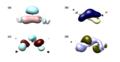 Frontier orbitals of alkyl-substituted trisilaallene.png