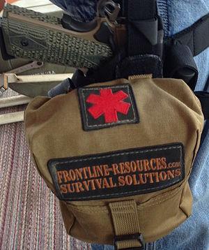 Combat lifesaver course - Individual Aid Kit