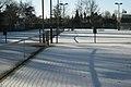 Frosty tennis courts, Grove Road, Dorridge - geograph.org.uk - 2191899.jpg