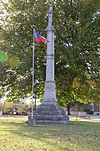 Ft. Smith Confederate Monument, Southwest View.JPG