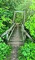 Fußgangerbrücke über die Leina.jpg