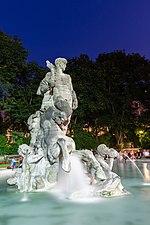 Fuente de Neptuno, Antiguo Jardín Botánico, Múnich, Alemania, 2015-07-04, DD 12.JPG