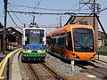 Fukui Railway 880 and F1000 001.JPG