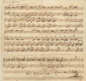 Preludes (Chopin) - Prelude No. 26 (autograph)