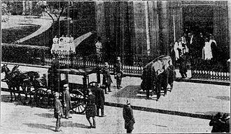 Henry C. Potter - Image: Funeral of Bishop Henry Codman Potter, 1908