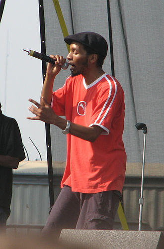Del the Funky Homosapien - Del performing at Austin City Limits, September 26, 2008