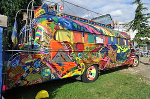 Merry Pranksters - Furthur, Ken Kesey and the Merry Pranksters' second bus