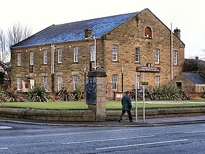 Wellington Barracks, Bury - The Regimental Headquarters at Wellington Barracks