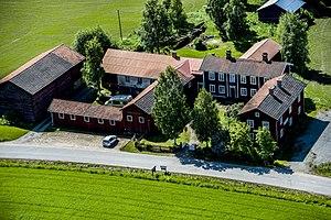 Decorated Farmhouses of Hälsingland - Image: Gästgivars 1