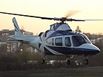 G-DMPI Agusta A109 Helicopter Castle Air Ltd (34178157411).jpg