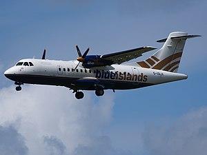 Blue Islands - Blue Islands ATR 42-320