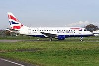 G-LCYF - E170 - BA CityFlyer