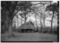 GENERAL VIEW, LOOKING NORTH - Tobacco Barn, Latta, Dillon County, SC HABS SC,17-LAT.V,2-1.tif