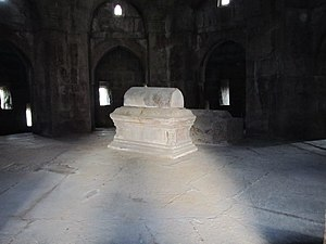 Tughlaqabad Fort - Graves inside the Mausoleum
