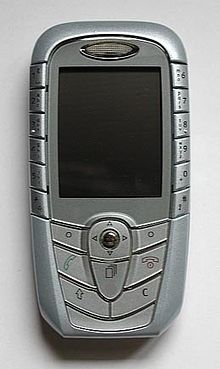 Un cellulare GSM del 2004