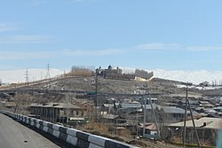 View of Arinj from the Yerevan-Sevan highway
