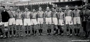 1938–39 Galatasaray S.K. season - Galatasaray squad in 1939