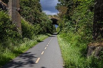Galloping Goose Regional Trail - Image: Galloping Goose Regional Trail, Saanich, British Columbia, Canada 17