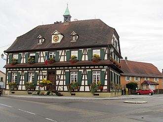 Gambsheim - Gambsheim town hall