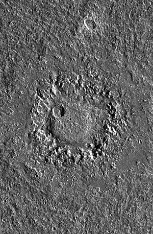 Neith (crater) - Image: Ganymede Neith PIA01658