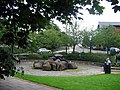 Garden, surrounded by offices - geograph.org.uk - 1412805.jpg