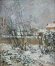 Garden in Snow by Paul Gauguin, 1883 - Ny Carlsberg Glyptotek - Copenhagen - DSC09431.JPG