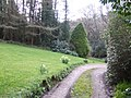 Gardens and drive to Bosanath Mill - geograph.org.uk - 370996.jpg