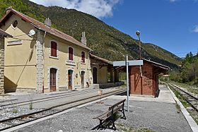 Image illustrative de l'article Gare de Thorame-Haute