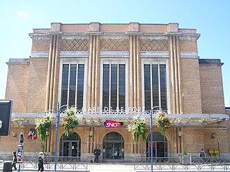 Belfort - SNCF station of Belfort-Ville