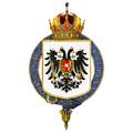Gartered arms of Franz Joseph, Emperor of Austria.png