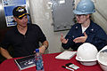 Gary Sinise on USS Ronald Reagan 2.jpg
