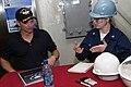 Gary Sinise on USS Ronald Reagan 2.jpg