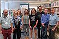 Gastgeber und Wikipedianer in der Zentralbibliothek Duesseldorf.jpg