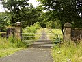 Gate at road to Southbar Farm - geograph.org.uk - 515423.jpg