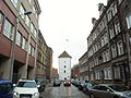 Gdańsk ulica Rzeźnicka i Baszta Biała.JPG