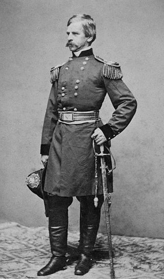 Nathaniel P. Banks - Banks in his military uniform, c. 1861 (portrait by Mathew Brady)