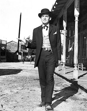Gene Barry - Gene Barry as Bat Masterson