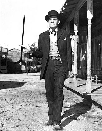 Bat Masterson (TV series) - Gene Barry as Bat Masterson (1958)